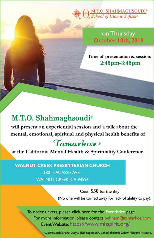 M.T.O. Presents at the California Mental Health & Spirituality Initiative Conference