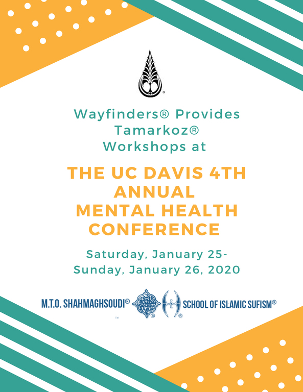 M.T.O. Presents Tamarkoz® Workshops at UC Davis Mental Health Conference