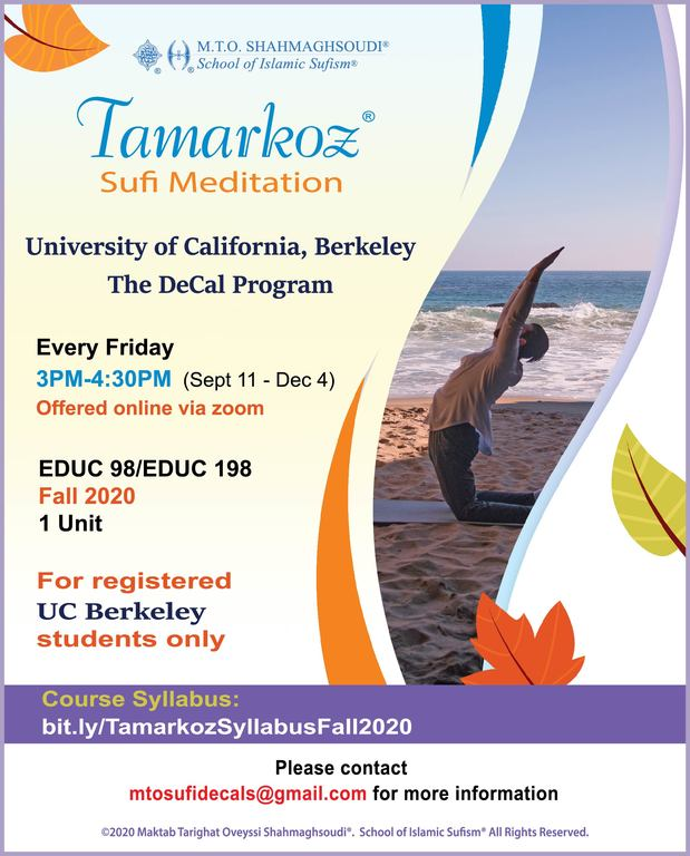 Weekly Tamarkoz®️ Decal Course Offered to UC Berkeley Students